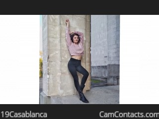 Webcam model 19Casablanca from CamContacts