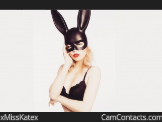 Webcam model xMissKatex from CamContacts