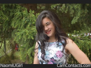 Webcam model NaomiUGirl from CamContacts