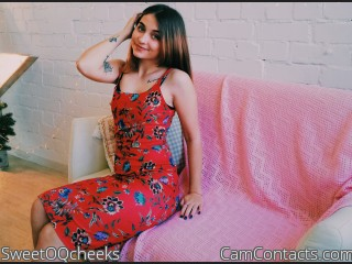 Webcam model SweetOQcheeks from CamContacts