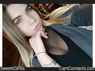 Webcam model SweettGirlss from CamContacts