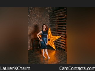 Webcam model LaurenXCharm from CamContacts