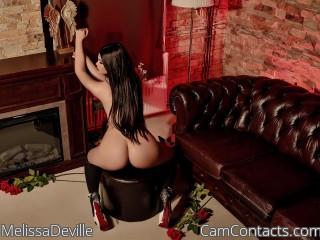 Webcam model MelissaDeville from CamContacts