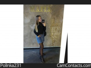 Webcam model Polinka231 from CamContacts