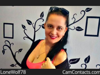 Webcam model LoneWolf78 from CamContacts