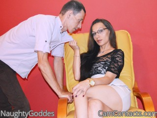 Webcam model NaughtyGoddes from CamContacts