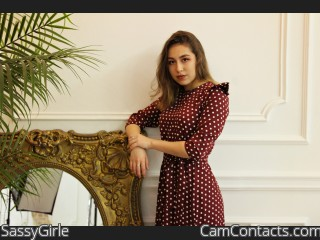 Webcam model SassyGirle from CamContacts
