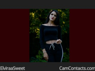 Webcam model ElviraaSweet from CamContacts