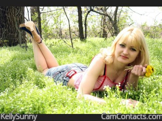 Webcam model KellySunny from CamContacts