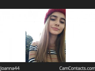Webcam model Joanna44 from CamContacts