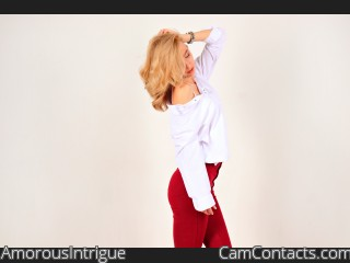 Webcam model AmorousIntrigue from CamContacts