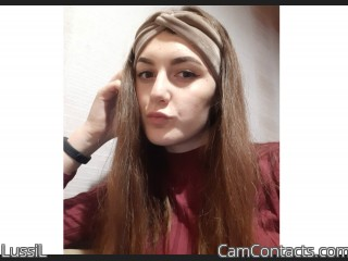 Webcam model LussiL from CamContacts