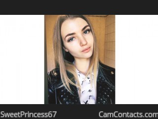 Webcam model SweetPrincess67 from CamContacts