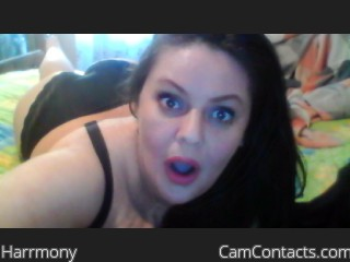 Webcam model Harrmony from CamContacts