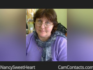 Webcam model NancySweetHeart from CamContacts