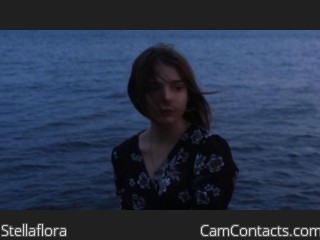 Webcam model Stellaflora from CamContacts