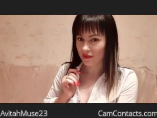 Webcam model AvitahMuse23 profile picture