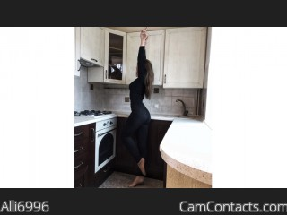 Webcam model Alli6996 from CamContacts
