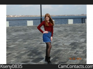 Webcam model Kseny0835 from CamContacts