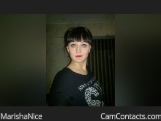 Webcam model MarishaNice from CamContacts