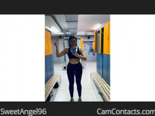 Webcam model SweetAngel96 from CamContacts