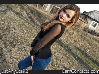 Webcam model JustAnyuta92 from CamContacts