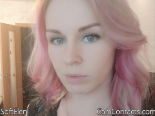 Webcam model SoftEleni from CamContacts