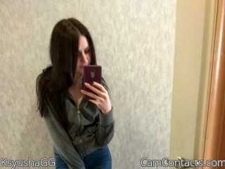 Webcam model KsyushaGG from CamContacts