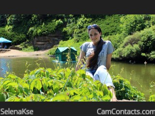 Webcam model SelenaKse from CamContacts