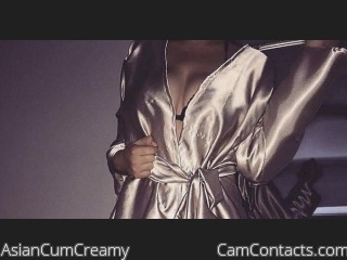Webcam model AsianCumCreamy from CamContacts