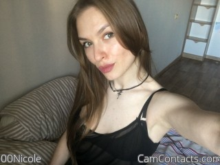 Webcam model 00Nicole from CamContacts