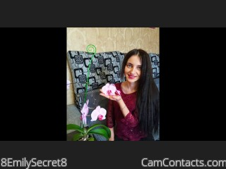 Webcam model 8EmilySecret8 from CamContacts