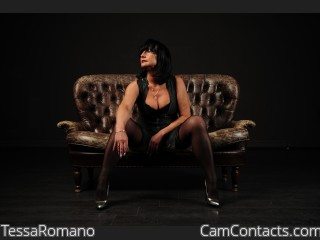 Webcam model TessaRomano from CamContacts