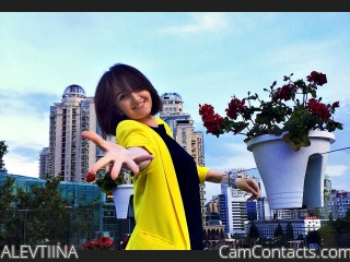 Webcam model ALEVTIINA from CamContacts
