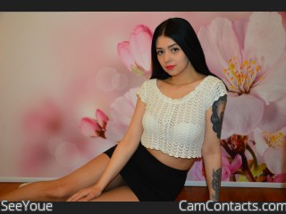 Webcam model SeeYoue from CamContacts