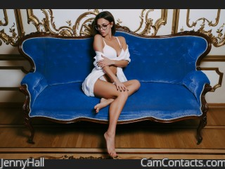 Webcam model JennyHall from CamContacts