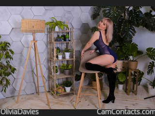 Webcam model OliviaDavies from CamContacts