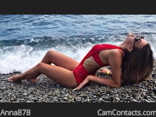 Webcam model Anna878 from CamContacts