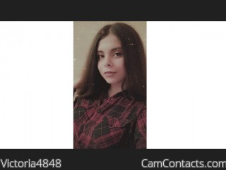 Webcam model Victoria4848 from CamContacts
