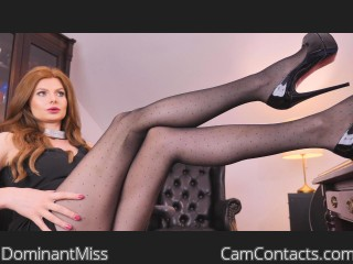 Webcam model DominantMiss from CamContacts
