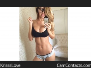 Webcam model KrisssLove from CamContacts