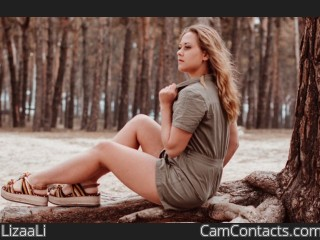 Webcam model LizaaLi from CamContacts