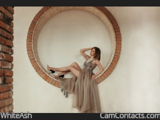 Webcam model WhiteAsh from CamContacts