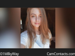 Webcam model 01MilkyWay from CamContacts