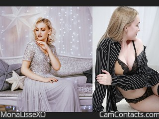 Webcam model MonaLisseXO from CamContacts