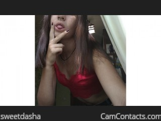 Webcam model sweetdasha from CamContacts