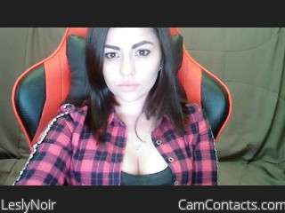 Webcam model LeslyNoir from CamContacts