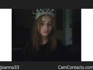 Webcam model Joanna33 from CamContacts
