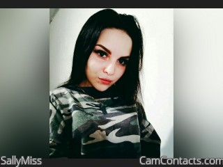 Webcam model SallyMiss from CamContacts