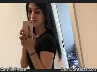 Webcam model CamillePetite from CamContacts